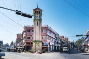 The Purcell Tower in Pyin U Lwin has stood here since 1934